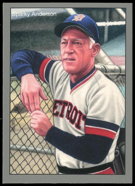 Helmar Brewing Image for Series 1984 Tiger Champs, front of card