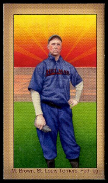 Helmar Brewing Image for Series Famous Athletes, front of card