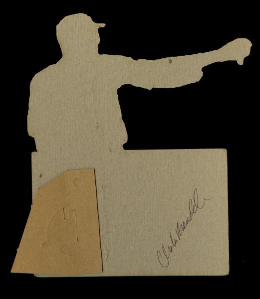 Helmar Brewing Image for Series Helmar Adv. Die-Cuts, back of card
