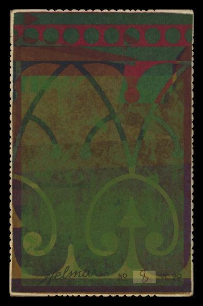Helmar Brewing Image for Series Helmar Cabinet III, back of card