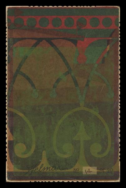 Helmar Brewing Image for Series Helmar Cabinet II, back of card