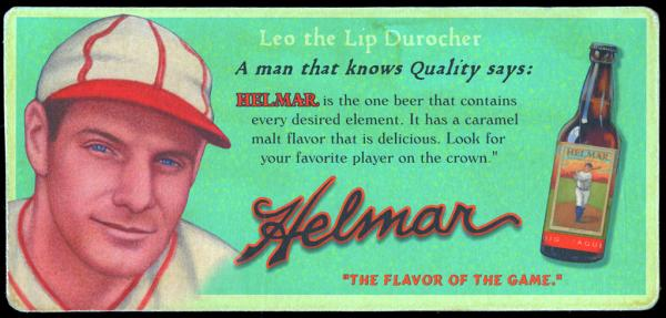Helmar Brewing Image for Series Helmar Trolley Card Series, front of card