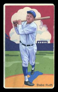 Picture of Helmar Brewing Baseball Card of Babe RUTH (HOF), card number 17 from series Boston Garter Game of the Century