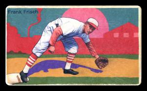 Picture of Helmar Brewing Baseball Card of Frank FRISCH (HOF), card number 25 from series Boston Garter Game of the Century
