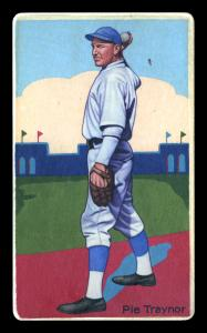 Picture of Helmar Brewing Baseball Card of Pie TRAYNOR (HOF), card number 35 from series Boston Garter Game of the Century