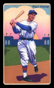 Picture of Helmar Brewing Baseball Card of Paul WANER (HOF), card number 36 from series Boston Garter Game of the Century