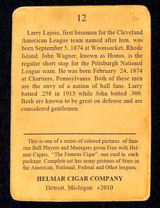 Picture, Helmar Brewing, E145-Helmar Card # 12, Larry