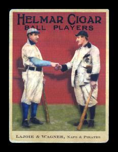 Picture of Helmar Brewing Baseball Card of Honus WAGNER (HOF), card number 12 from series E145-Helmar