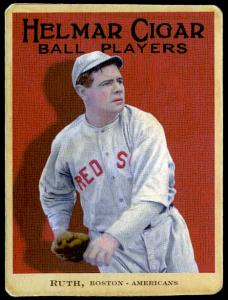 Picture of Helmar Brewing Baseball Card of Babe RUTH (HOF), card number 2 from series E145-Helmar