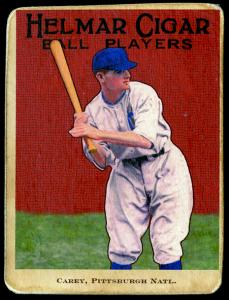 Picture of Helmar Brewing Baseball Card of Max CAREY, card number 46 from series E145-Helmar