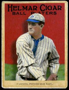 Picture of Helmar Brewing Baseball Card of Howie Camnitz, card number 60 from series E145-Helmar