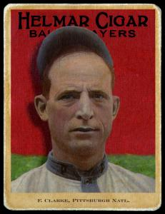 Picture of Helmar Brewing Baseball Card of Fred CLARKE (HOF), card number 61 from series E145-Helmar