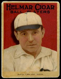 Picture of Helmar Brewing Baseball Card of George DAVIS (HOF), card number 66 from series E145-Helmar