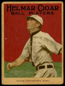 Picture of Helmar Brewing Baseball Card of Tommy Leach, card number 83 from series E145-Helmar