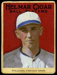 Picture of Helmar Brewing Baseball Card of Lefty Williams, card number 92 from series E145-Helmar