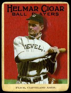 Picture of Helmar Brewing Baseball Card of Elmer FLICK (HOF), card number 95 from series E145-Helmar