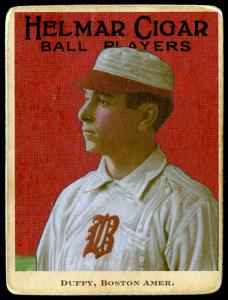 Picture of Helmar Brewing Baseball Card of Hugh DUFFY, card number 97 from series E145-Helmar