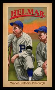 Picture of Helmar Brewing Baseball Card of Paul WANER (HOF), card number 157 from series Famous Athletes