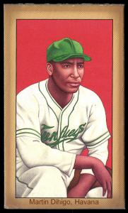 Picture of Helmar Brewing Baseball Card of Martin DIHIGO (HOF), card number 22 from series Famous Athletes