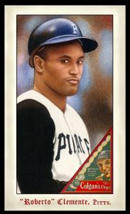 Picture of Helmar Brewing Baseball Card of Roberto CLEMENTE, card number 268 from series Famous Athletes