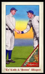 Picture of Helmar Brewing Baseball Card of Honus WAGNER (HOF), card number 270 from series Famous Athletes