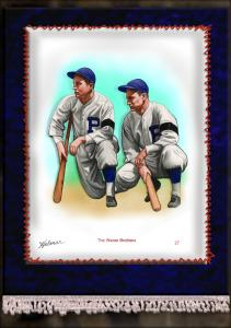 Picture of Helmar Brewing Baseball Card of Paul WANER (HOF), card number 27 from series French Silks Large
