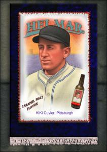 Picture of Helmar Brewing Baseball Card of Kiki CUYLER (HOF), card number 10 from series French Silks Small