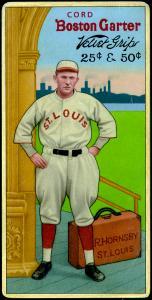 Picture of Helmar Brewing Baseball Card of Rogers HORNSBY (HOF), card number 40 from series H813-4 Boston Garter-Helmar