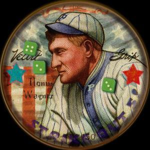 Picture of Helmar Brewing Baseball Card of Honus WAGNER (HOF), card number 50 from series H813-4 Boston Garter-Helmar