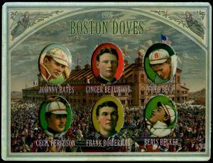 Picture of Helmar Brewing Baseball Card of Frank Bowerman, card number 6 from series Helmar Die-Cut