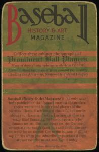 Picture, Helmar Brewing, Helmar Cabinet Card # 23, Honus WAGNER (HOF), Portrait, Pittsburgh Pirates