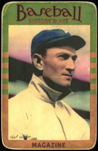 Picture of Helmar Brewing Baseball Card of Chief Wilson, card number 38 from series Helmar Brewing Co. Cabinet