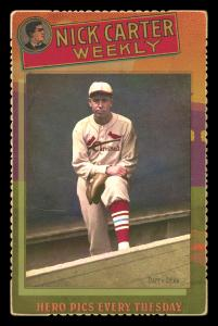 Picture of Helmar Brewing Baseball Card of Daffy Dean, card number 35 from series Helmar Cabinet III