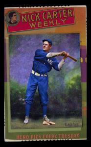 Picture of Helmar Brewing Baseball Card of Elmer FLICK (HOF), card number 4 from series Helmar Cabinet III