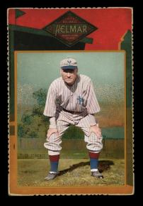 Picture of Helmar Brewing Baseball Card of Hughie JENNINGS (HOF), card number 25 from series Helmar Cabinet Series II