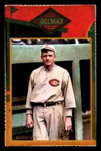 Picture of Helmar Brewing Baseball Card of Christy MATHEWSON (HOF), card number 29 from series Helmar Cabinet Series II