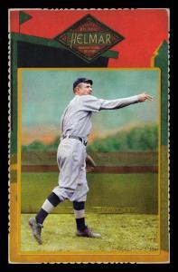 Picture of Helmar Brewing Baseball Card of Christy MATHEWSON (HOF), card number 45 from series Helmar Cabinet Series II