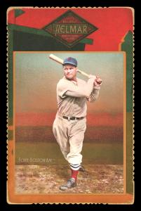 Picture of Helmar Brewing Baseball Card of Jimmie FOXX, card number 61 from series Helmar Cabinet Series II
