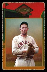 Picture of Helmar Brewing Baseball Card of Gabby HARTNETT, card number 62 from series Helmar Cabinet Series II