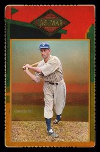 Picture of Helmar Brewing Baseball Card of Charlie GEHRINGER, card number 63 from series Helmar Cabinet Series II