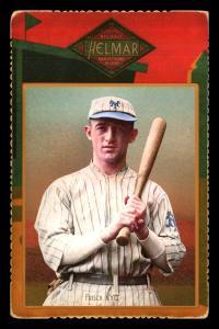 Picture of Helmar Brewing Baseball Card of Frank FRISCH (HOF), card number 64 from series Helmar Cabinet Series II