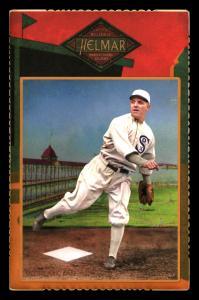 Picture of Helmar Brewing Baseball Card of Eddie Cicotte, card number 76 from series Helmar Cabinet Series II