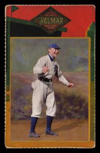 Picture of Helmar Brewing Baseball Card of Hughie JENNINGS (HOF), card number 87 from series Helmar Cabinet Series II