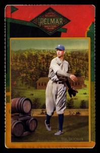 Picture of Helmar Brewing Baseball Card of Moe Berg, card number 96 from series Helmar Cabinet Series II