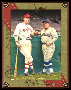 Picture of Helmar Brewing Baseball Card of Hack WILSON, card number 118 from series Helmar Imperial Cabinet