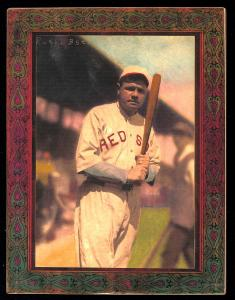 Picture of Helmar Brewing Baseball Card of Babe RUTH (HOF), card number 17 from series Helmar Imperial Cabinet