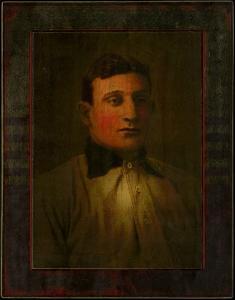 Picture of Helmar Brewing Baseball Card of Honus WAGNER (HOF), card number 18 from series Helmar Imperial Cabinet