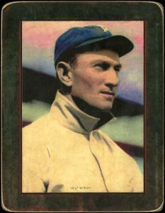 Picture of Helmar Brewing Baseball Card of Chief Wilson, card number 21 from series Helmar Imperial Cabinet