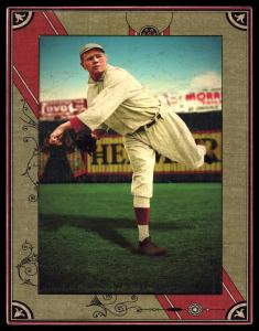 Picture of Helmar Brewing Baseball Card of Babe RUTH (HOF), card number 47 from series Helmar Imperial Cabinet
