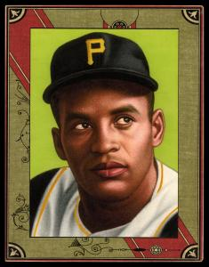 Picture of Helmar Brewing Baseball Card of Roberto CLEMENTE, card number 86 from series Helmar Imperial Cabinet